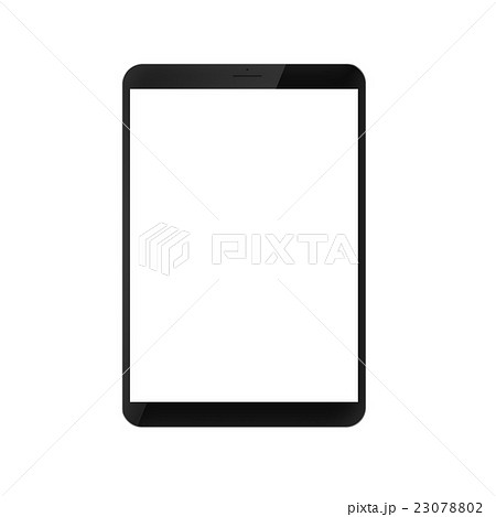 digitally created modern generic tablet pc 23078802