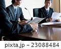 会議 ビジネスマン ミーティングの写真 23088484