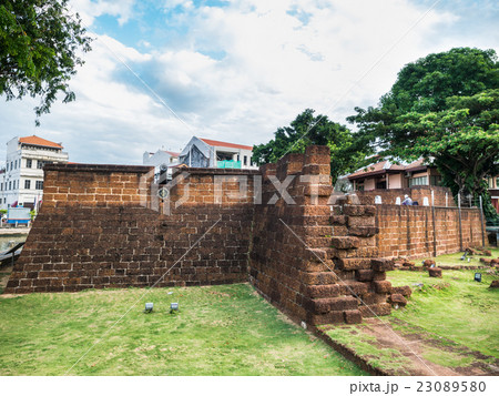 Old stone fortifications of Malacca 23089580