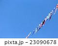 空を泳ぐ鯉のぼり 23090678