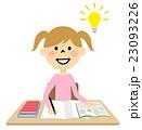 子供 女の子 小学生のイラスト 23093226