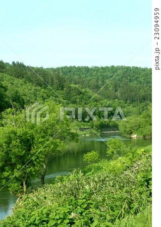 初夏の幌延町の写真素材 [23094959] - PIXTA