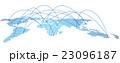 世界地図 地図 グローバルのイラスト 23096187