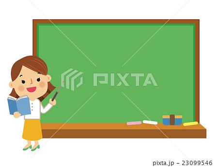 人物 働く女性 教員 23099546