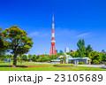 芝公園 東京タワー 風景の写真 23105689