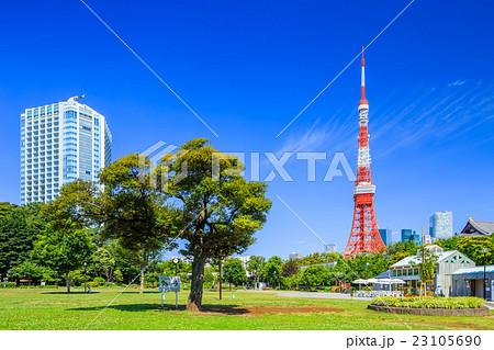 東京 芝公園の風景 23105690