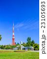 芝公園 東京タワー 風景の写真 23105693