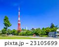 芝公園 東京タワー 風景の写真 23105699