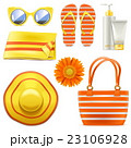 サングラス 夏 ファッションのイラスト 23106928