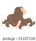 綺麗な髪の毛 23107138