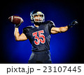 american football player man isolated 23107445