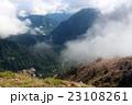 焼岳 山 夏の写真 23108261