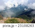 焼岳 山 夏の写真 23108263