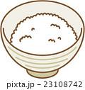 白ご飯 ご飯 飯のイラスト 23108742