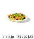 パスタ パスタ料理 ラビオリのイラスト 23110483