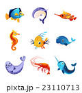Colorful Sea Animals Set 23110713