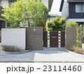 住宅 玄関 外構 植栽 エクステリア アプローチ デザイン住宅 23114460