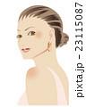 ファッション シニヨン 女性 23115087