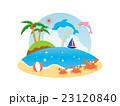 海のイラスト 23120840