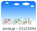 自転車と青空 サイクルセット×3 23123094