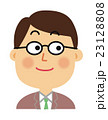男性 表情 23128808