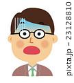 男性 表情 23128810