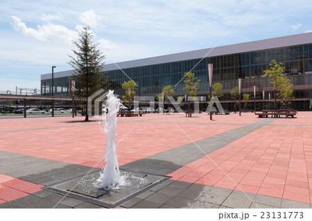 噴水と旭川駅前広場。 23131773