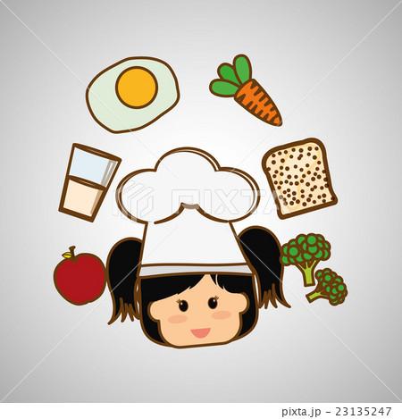 Menu Kids icon design, vector illustration, vectorのイラスト素材 [23135247] - PIXTA