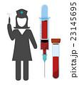メディカル 医療 注射器のイラスト 23145695