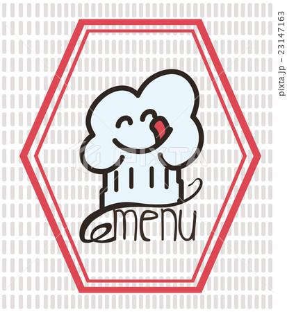 Menu and restaurant icons designのイラスト素材 [23147163] - PIXTA
