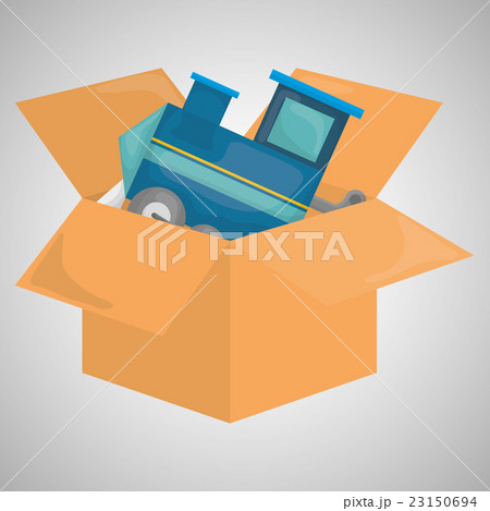 Flat illustration of free delivery design のイラスト素材 [23150694] - PIXTA