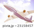 飛行機 ブルースカイ 飛行の写真 23158457
