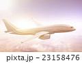 飛行機 飛行 飛ぶの写真 23158476