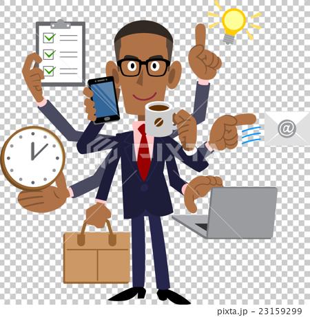 A capable black businessman 23159299