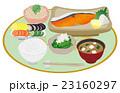 食べ物 白バック 日本食のイラスト 23160297