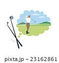 ゴルフクラブ イラスト 23162861