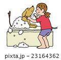愛犬のシャワー 23164362