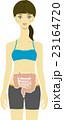 女性と腸 23164720
