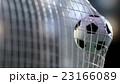 soccer ball in the net. 3d rendering. 23166089