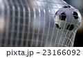 soccer ball in the net. 3d rendering. 23166092