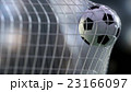 soccer ball in the net. 3d rendering. 23166097