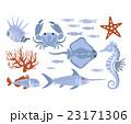 水中 サカナ 魚のイラスト 23171306