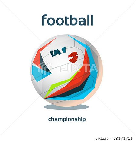 Football Championship Colorful Bannerのイラスト素材 [23171711] - PIXTA