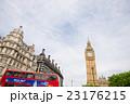 ビッグベンとロンドンバス 23176215