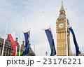 ビッグベンと国旗 23176221