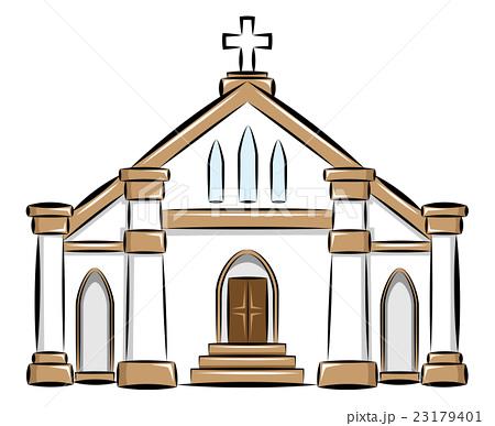 教会のイラスト素材 23179401 Pixta