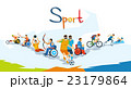 Disabled Athletes Sport Competition Banner 23179864