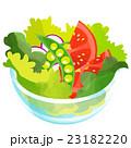 トマト スナップエンドウ えんどう豆のイラスト 23182220
