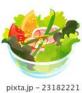 生ハムとトマトのサラダ 23182221
