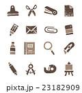 文具 アイコン 文房具のイラスト 23182909